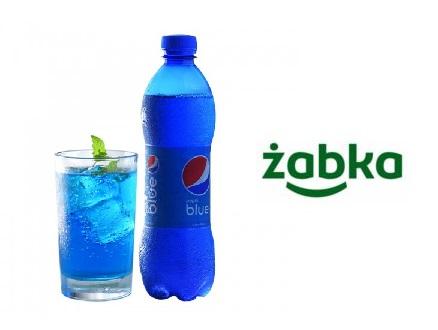 Pepsi Blue o smaku jagodowym 4.59zł/450ml @ Żabka