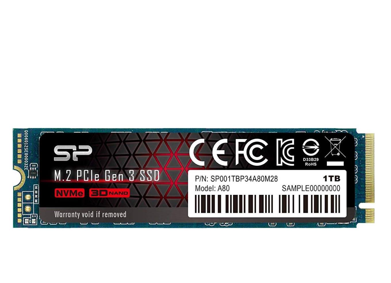 Dysk SSD Silicon Power P34A80 1TB M.2 PCIe Gen3 x4 NVMe. Amazon.co.uk
