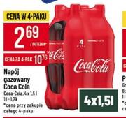 Zgrzewka Coca-Cola 4x1,5l (2,26 butelka) @Polomarket