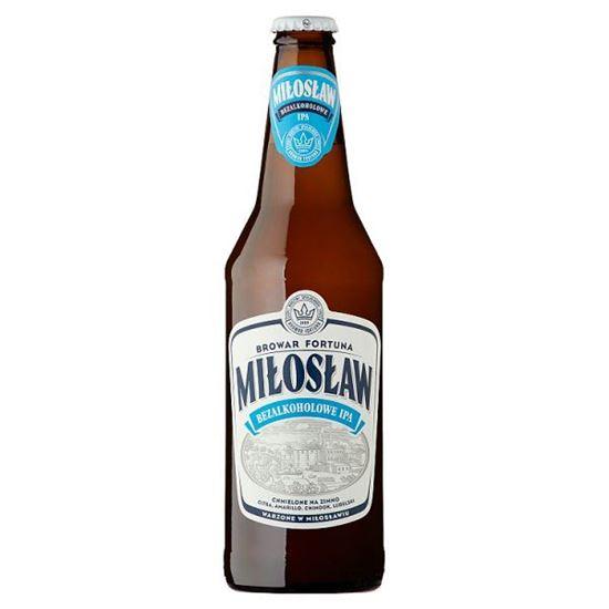 Piwo Miłosław bezalkoholowe IPA @Auchan