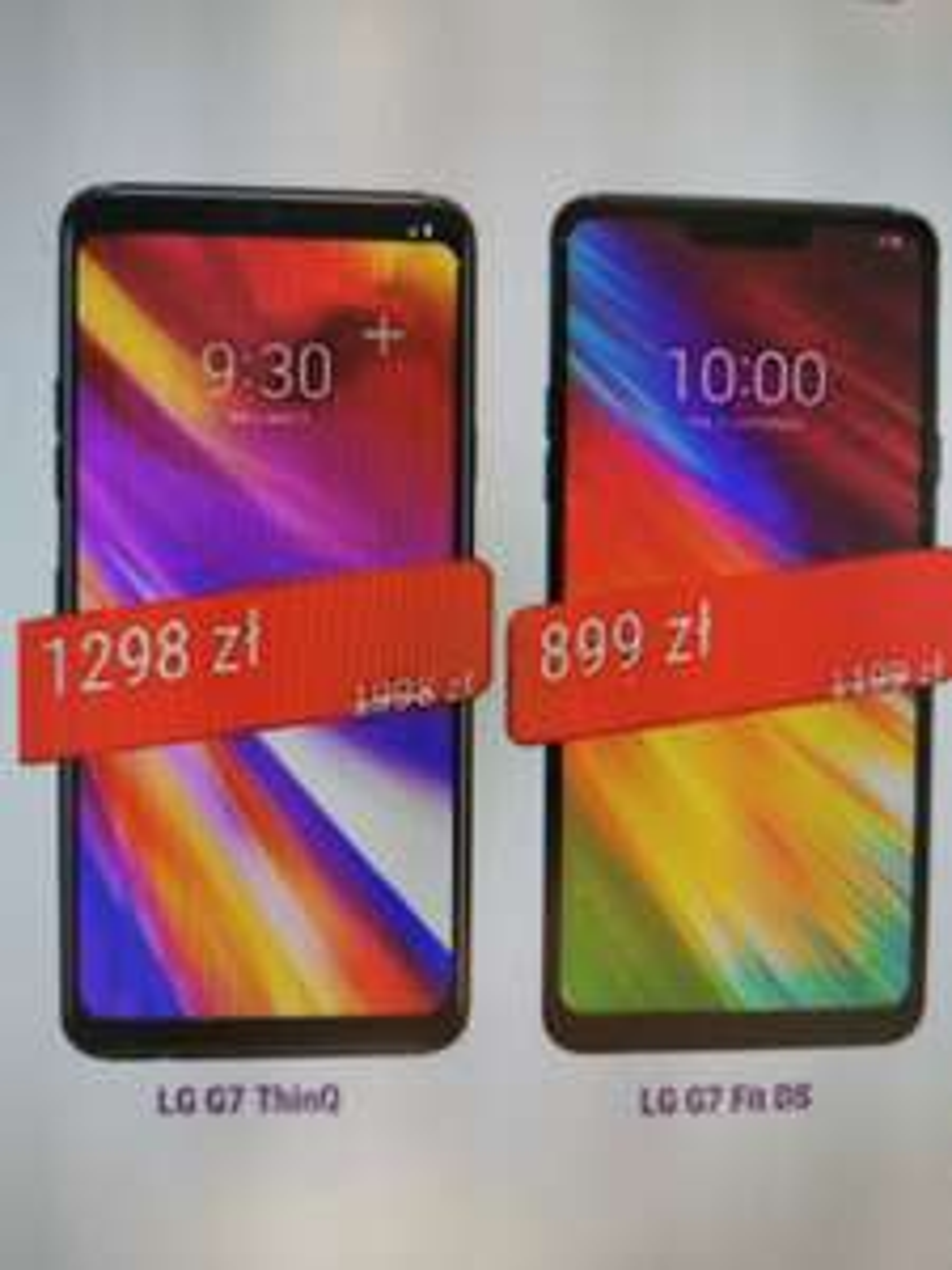 LG G7 o 700zl taniej w PLAY