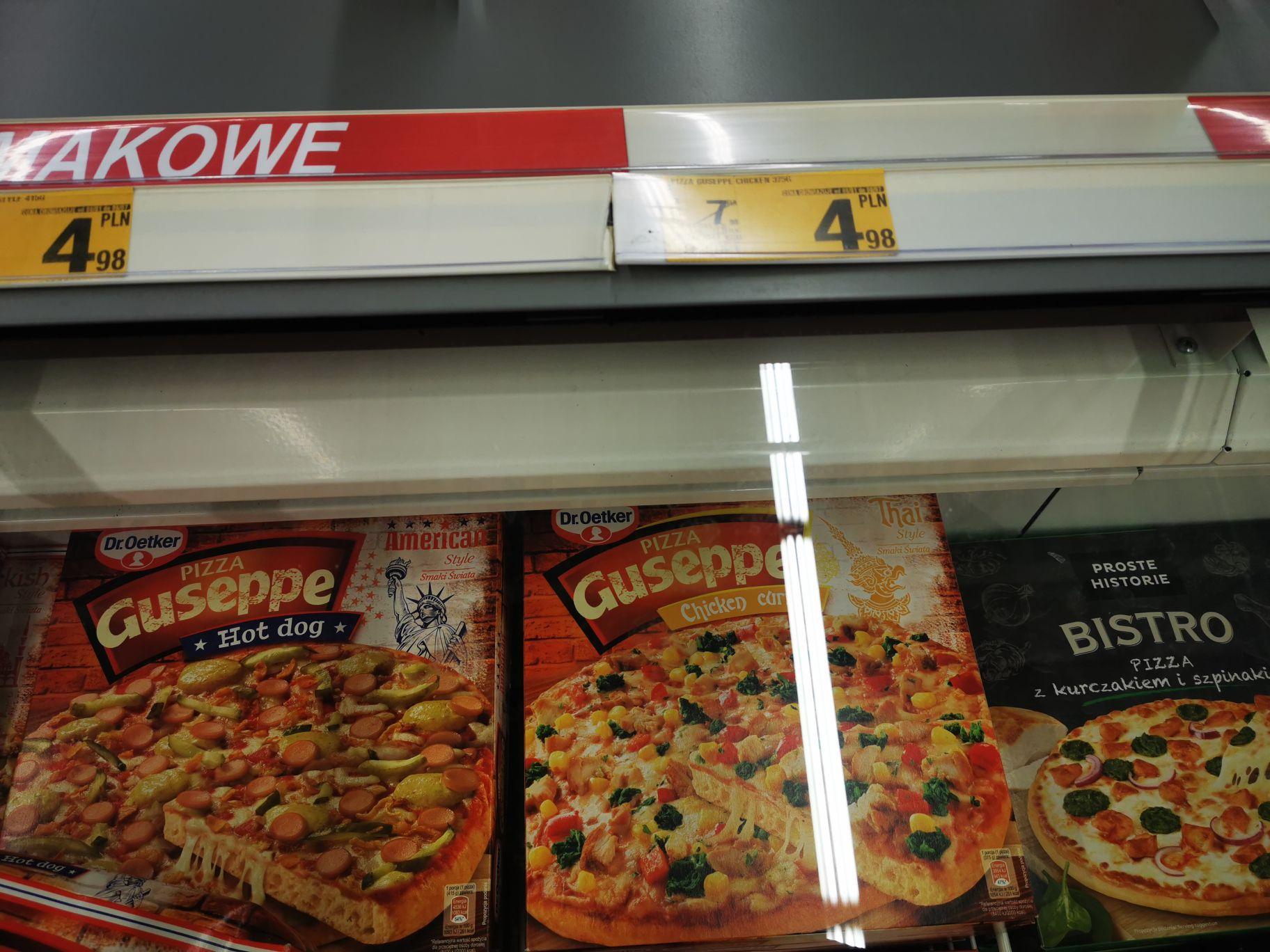 Pizza Guseppe Auchan