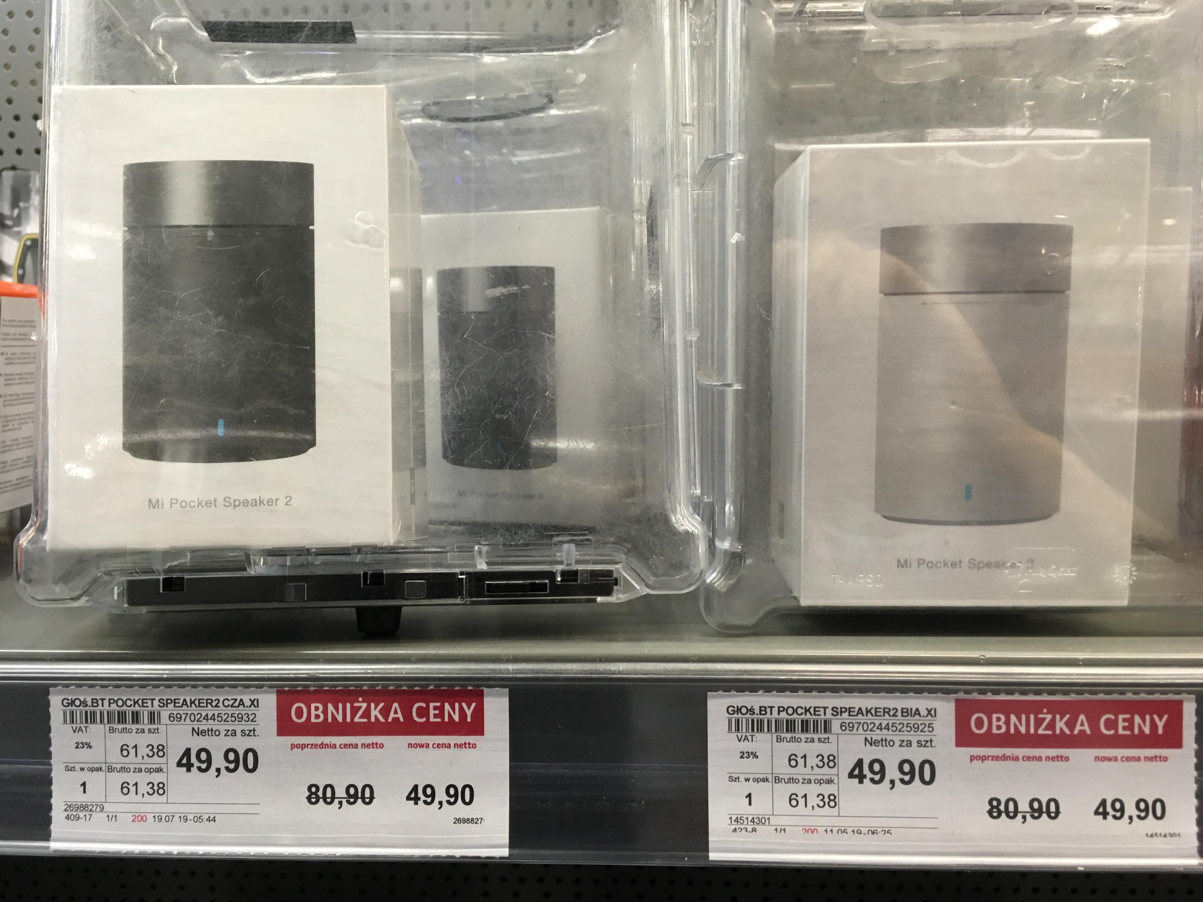 Xiaomi Mi Pocket Speaker 2 , biały / czarny