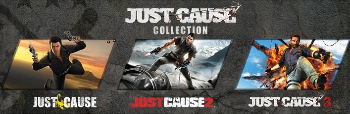 Just Cause collection 1 2 3 plus dodatki STEAM