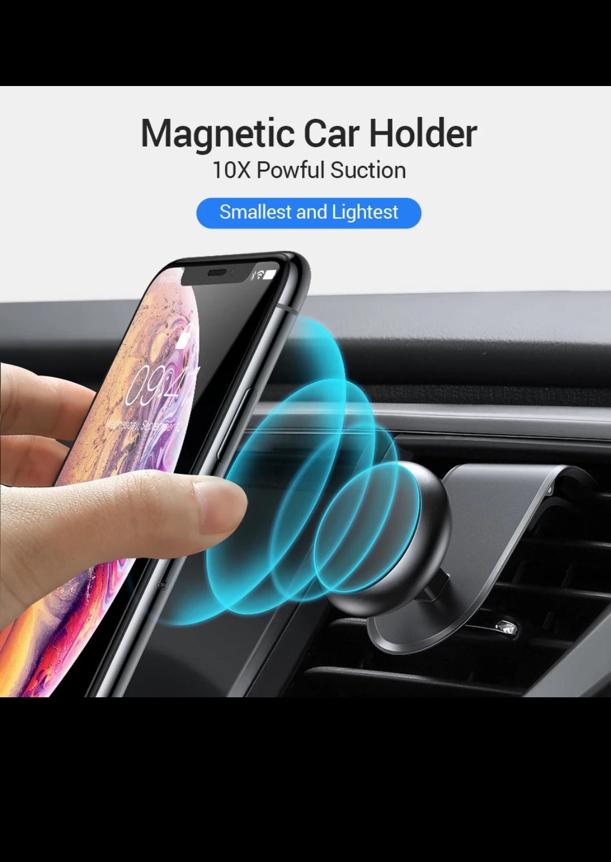 Uchwyt magnetyczny na telefon, do samochodu