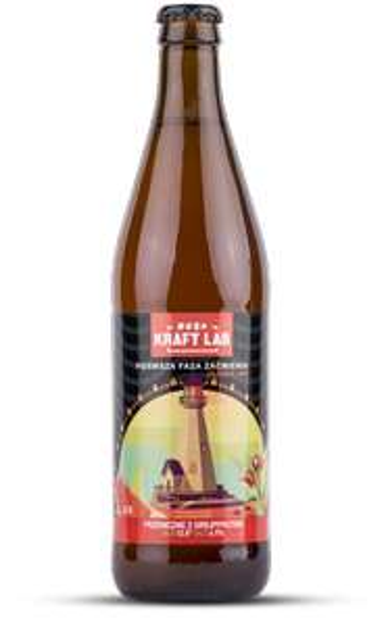 Piwo pszeniczne 0,5 L Pierwsza faza zaćmienia Kraft Lab Aldi @Aldi