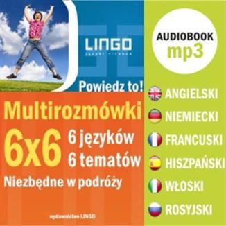 Multirozmówki w 6 językach audiobook za 12,90 zł @ ebookpoint