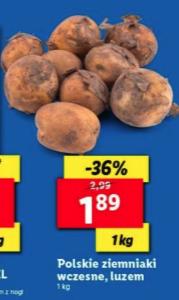 Polskie ziemniaki wczesne @Lidl