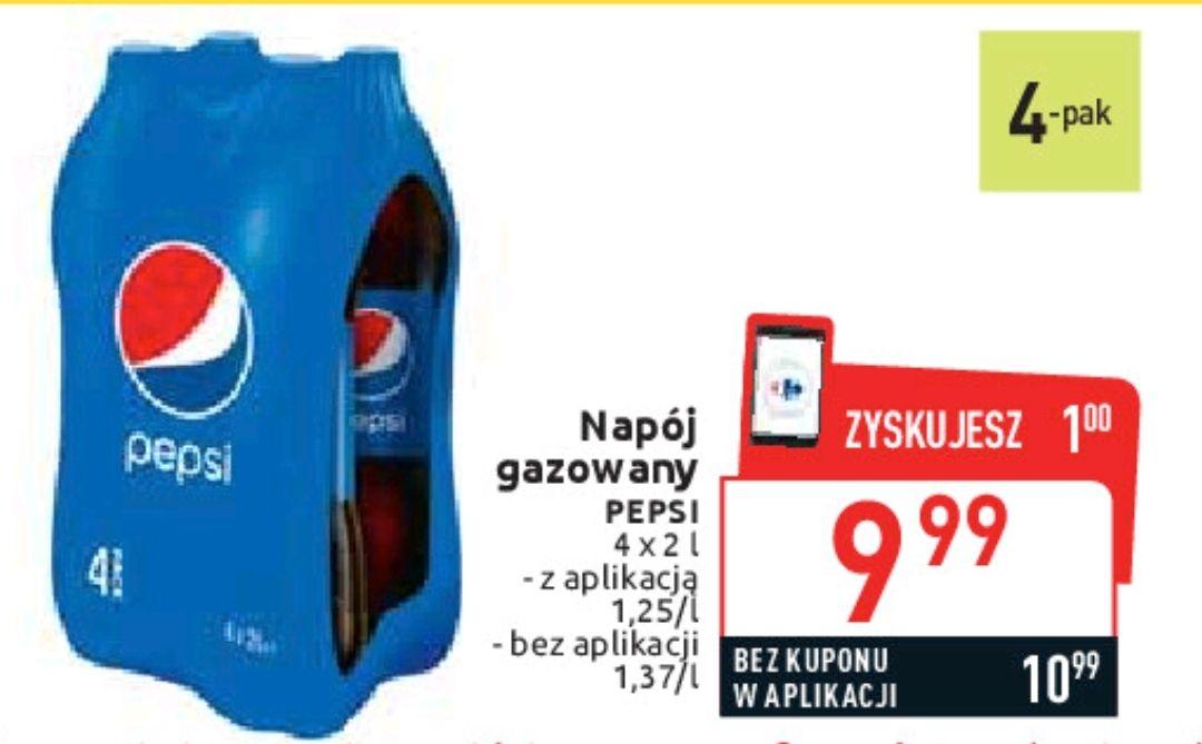4-pak Pepsi 2l - Carrefour