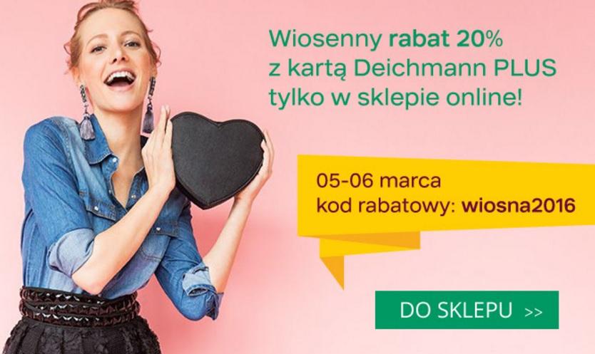 -20% w Deichmann Plus (5-6 marca)