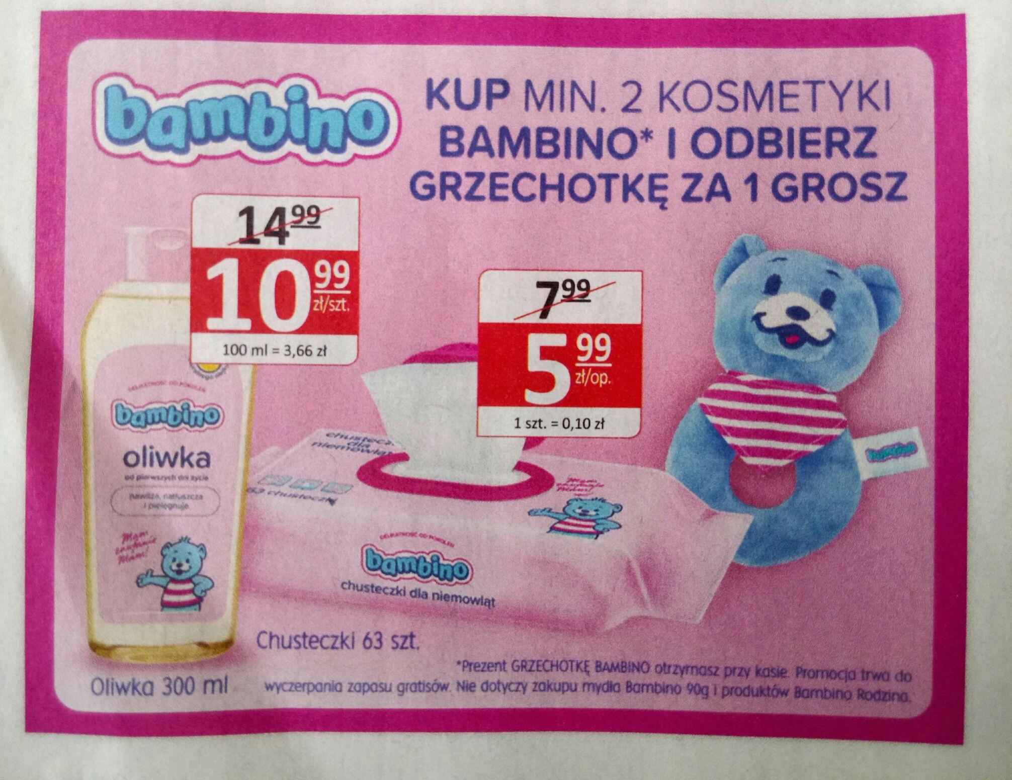 Natura Grzechotka 1gr przy zakupie dwoch produktow Bambino