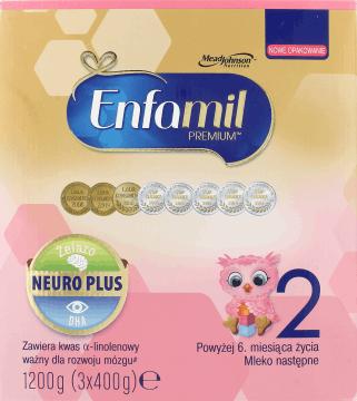Mleko dla dzieci - enfamil 2,3,4 - 1200g