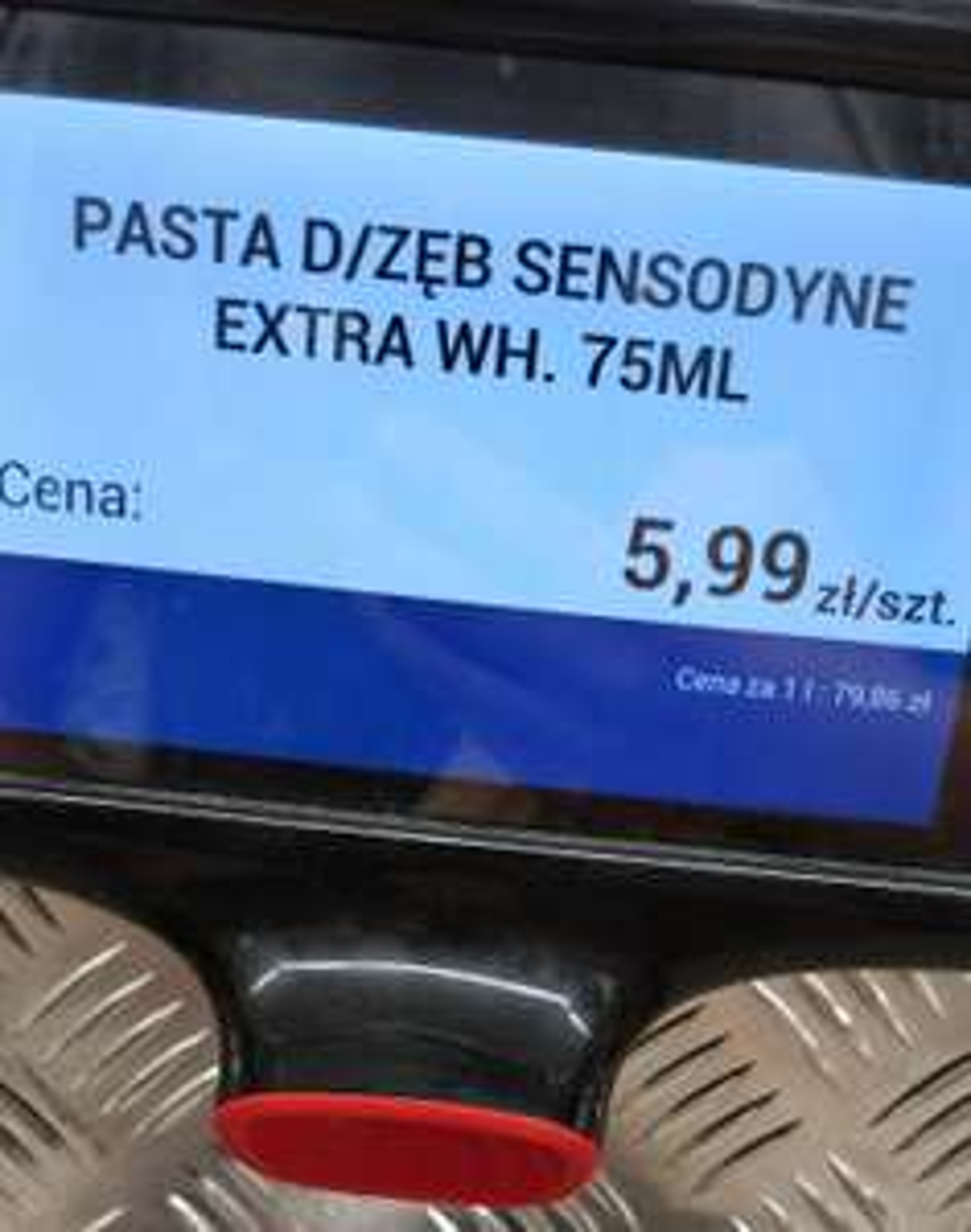 Pasta Sensodyne Whitening 75ml biedronka Wrocław hubska