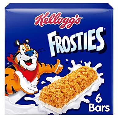 Batony mleczno-zbożowe Frosties 42x amazon.co.uk możliwe £3.85