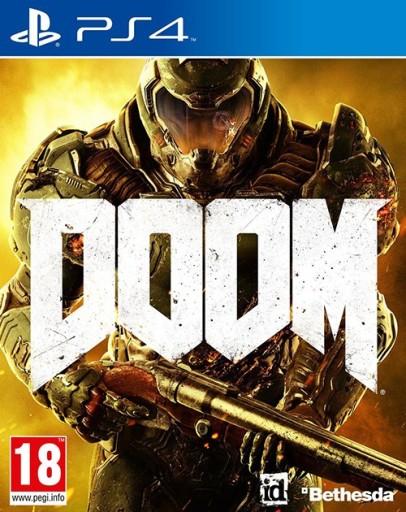 DOOM PS4 (wersja pudełkowa) Nowa