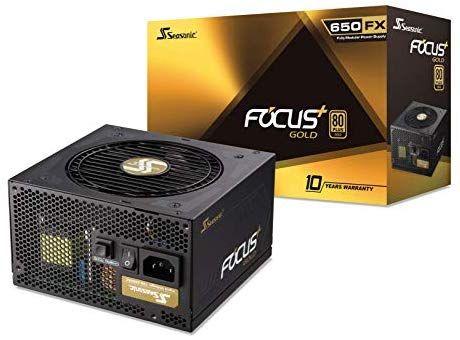 Zasilacz Seasonic Focus 650W 80+ Gold [Amazon Prime]