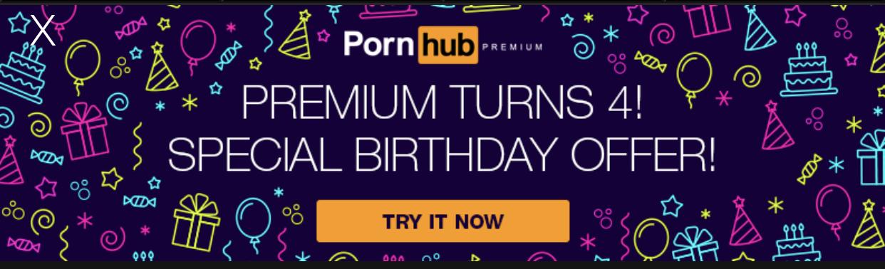 Pornhub Premium ZA DARMO przez miesiąc!