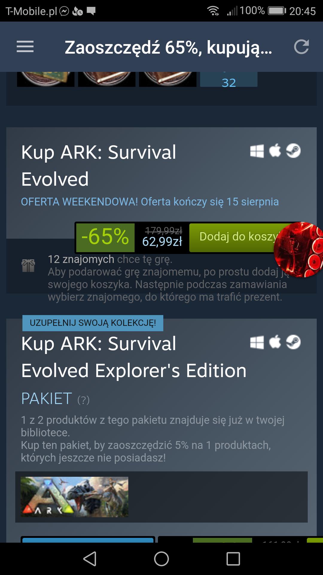 Ark Survival Evolved -65% steam