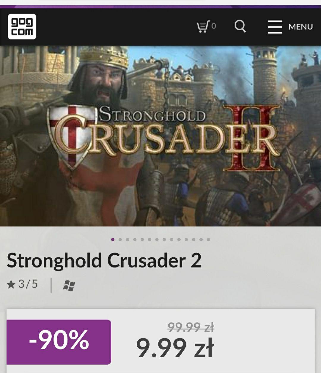 Wyprzedaż serii gier Stronghold HD na GOGu ! Od -50% do -90%