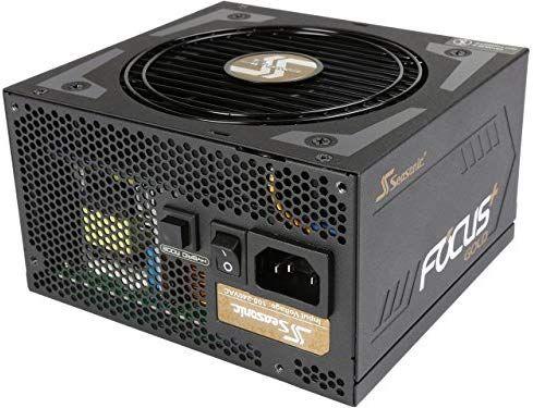 Zasilacz Seasonic Focus Plus Gold 650W (SSR-650FX). Wersja 550W - 282zł