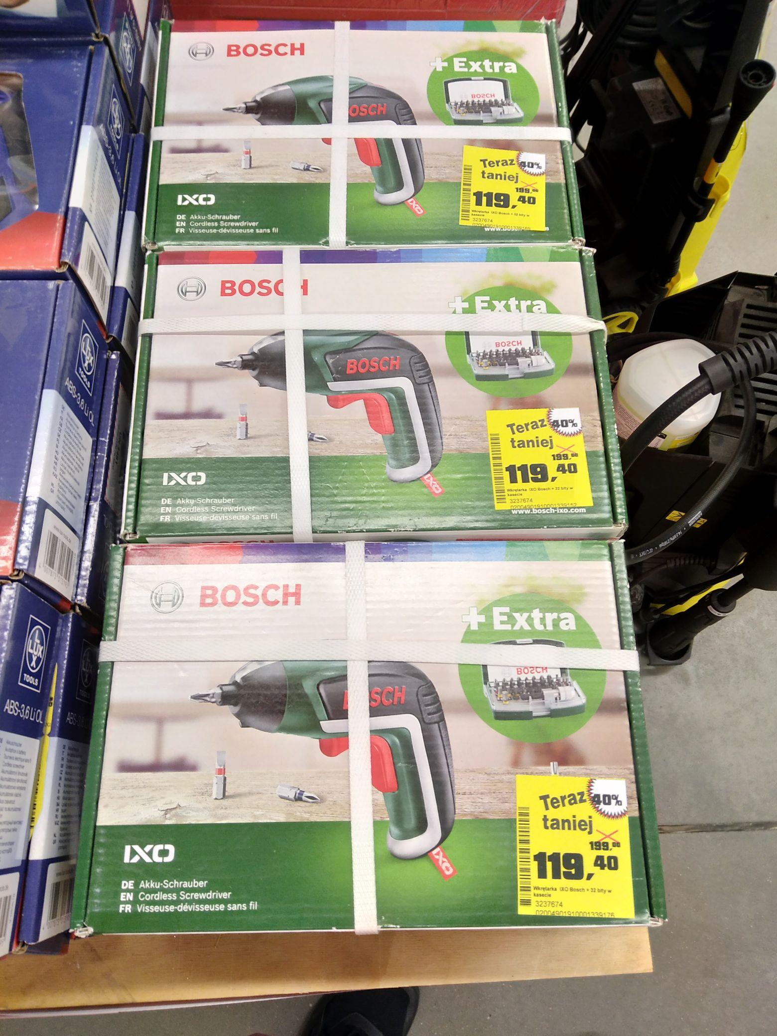Bosch Wkrętarka akumulatorowa IXO V