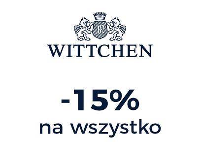 15% rabatu na wszystko w sklepach stacjonarnych @ Wittchen