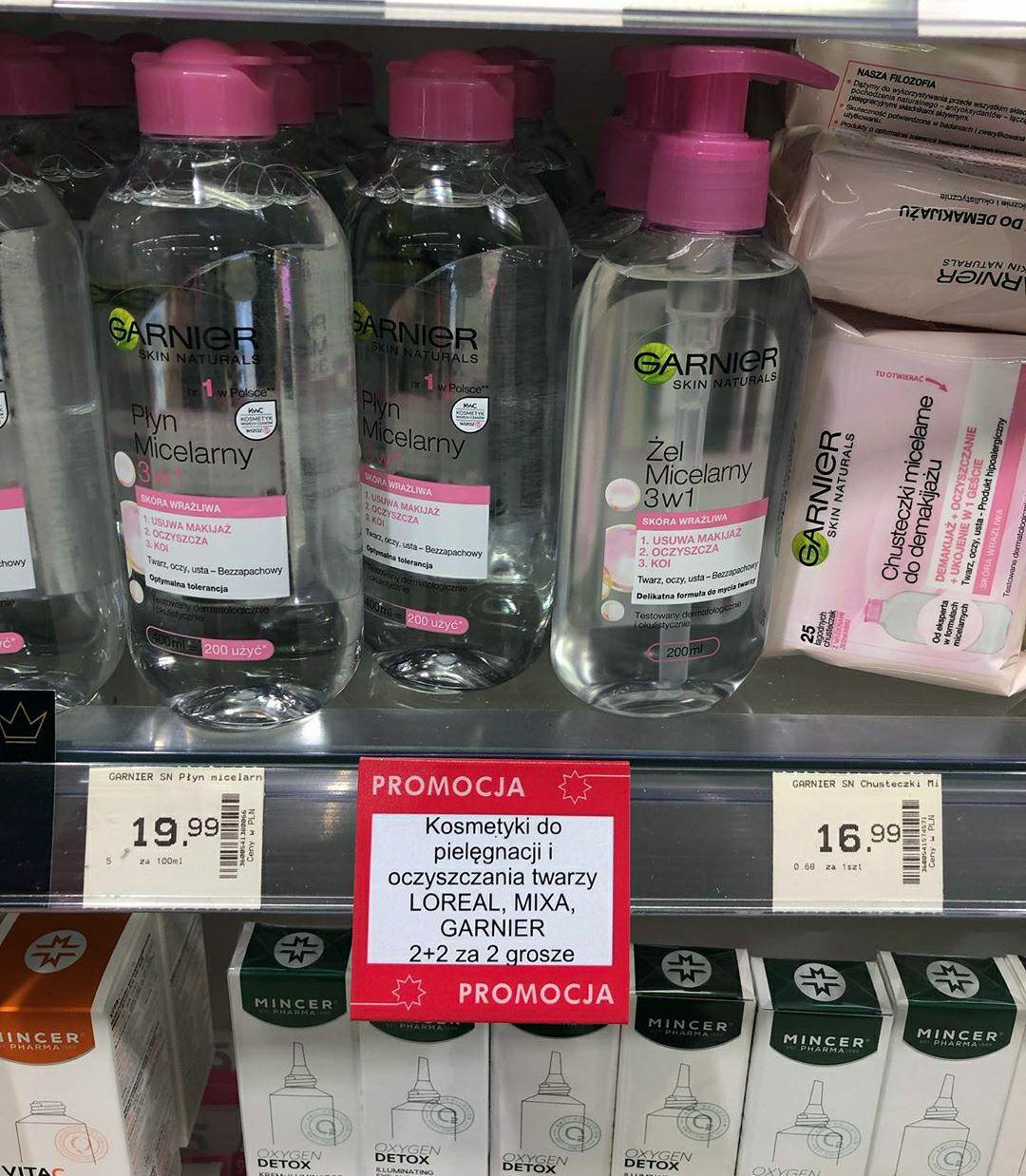 Kosmetyki do pielęgnacji i oczyszczania twarzy 2+2 za 2 grosze Super-Pharm