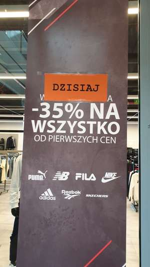 -35% na otwarcie Factory Outlet Lublin Olimp