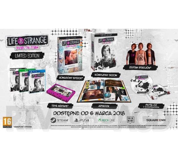 Life is Strange: Before The Storm - Edycja Limitowana Soundtrack Artbook PC RTVeuroAGD