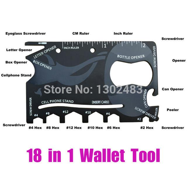 Wallet ninja - czyli niezbednik kazdego mezczyzny! 18 narzedzi