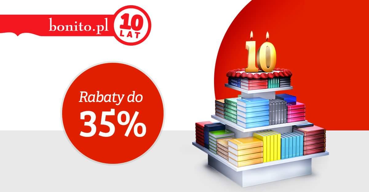 Rabaty do 35% z okazji 10 urodzin @ Bonito