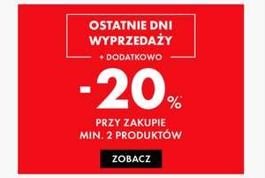Obniżka ceny o 20% kupując minimum 2 rzeczy @ 50Style