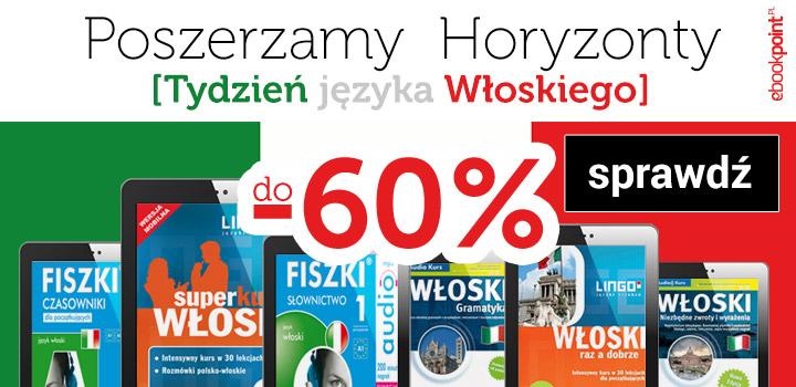 Fiszki audio od 4,40 zł i inne. Tydzień języka włoskiego @ ebookpoint.pl