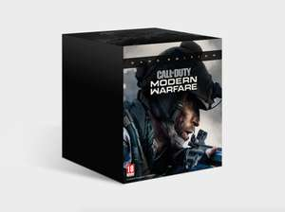 Edycja kolekcjonerska Call of Duty: Modern Warfare Dark Edition PC i PS4 na Muve