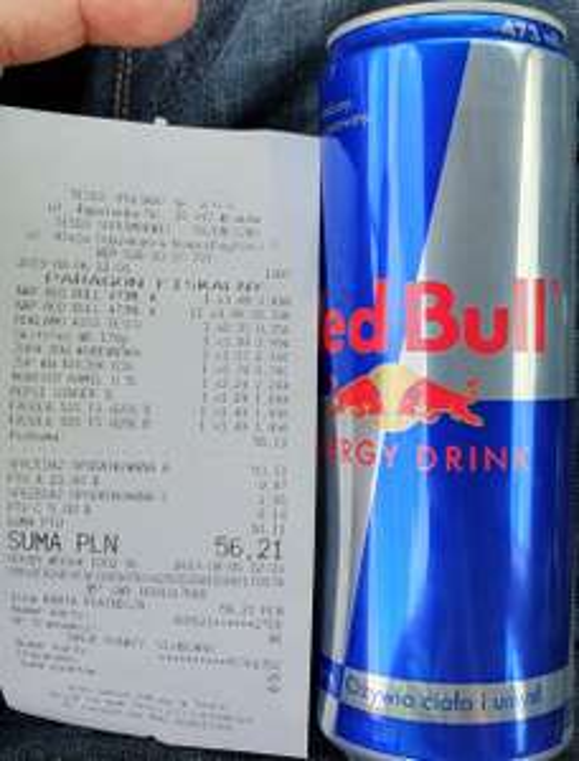 (Duży) Red Bull 473 ml - Tesco