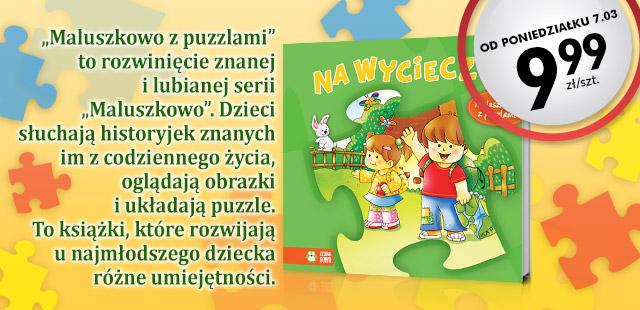 Książki z puzzlami za 9,99zł @ Biedronka
