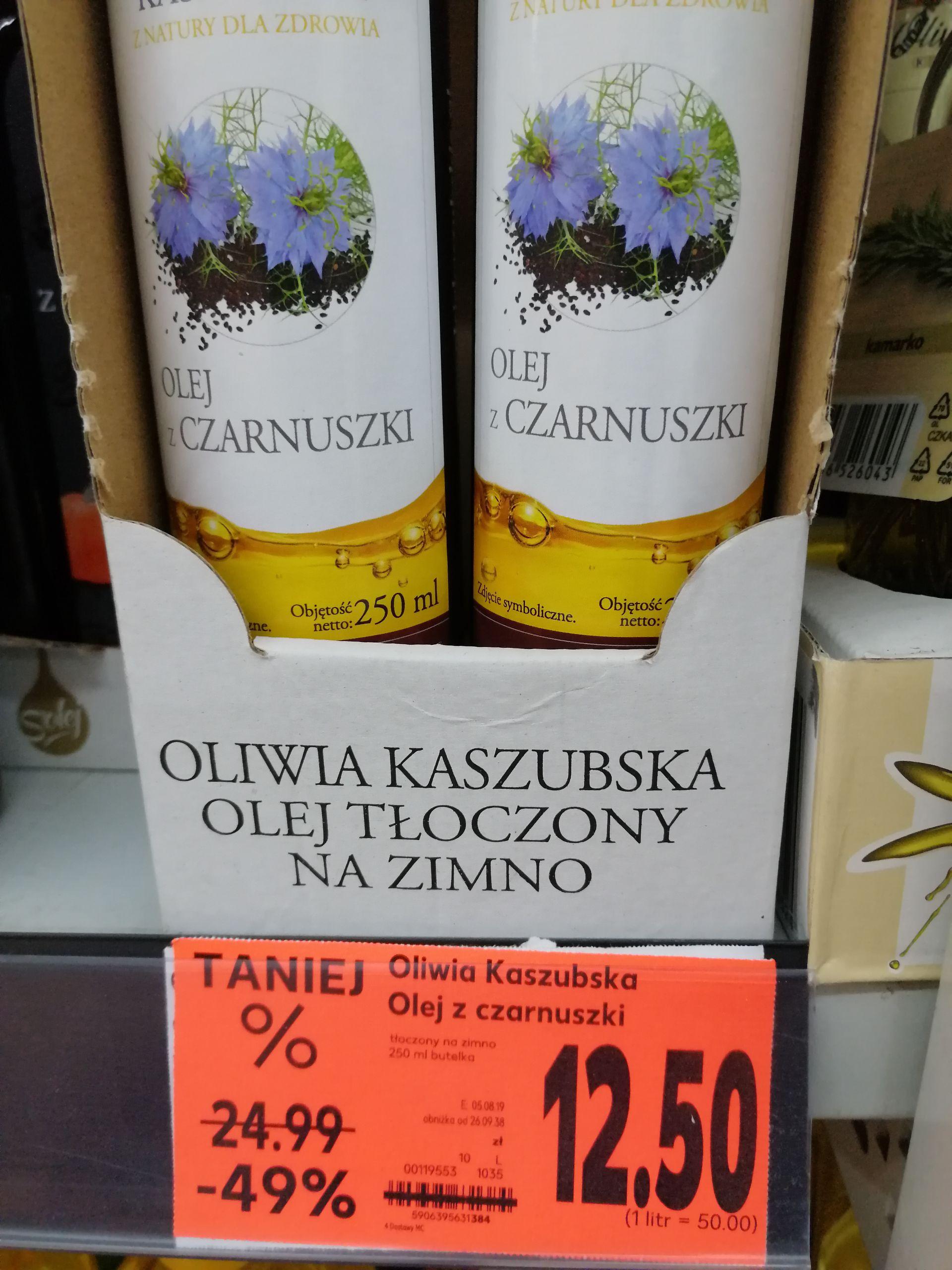 Olej z czarnuszki Kaufland