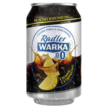 Warka Radler 0% (ciemne z cytryną) za Darmo, Kraków - Krupnicza