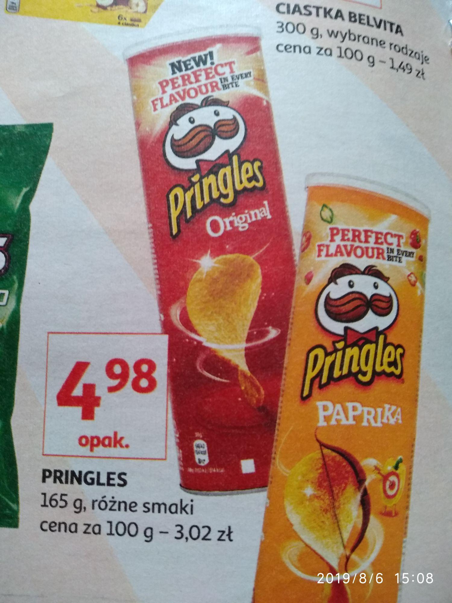 Pringlesy Auchan