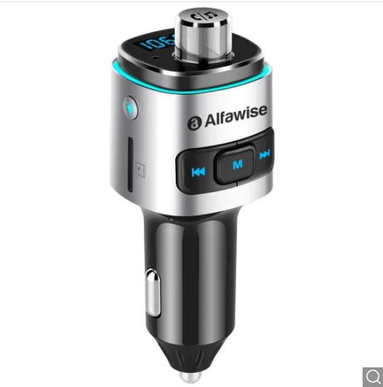 Alfawise QC3.0 Bluetooth 4.2 FM Transmitter za $9.67 / ~38zł