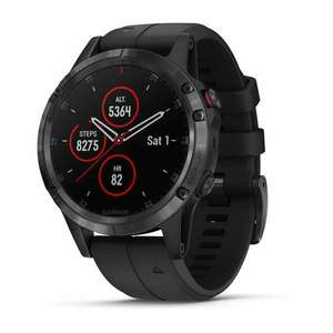 Garmin Fenix 5 Plus srebrny