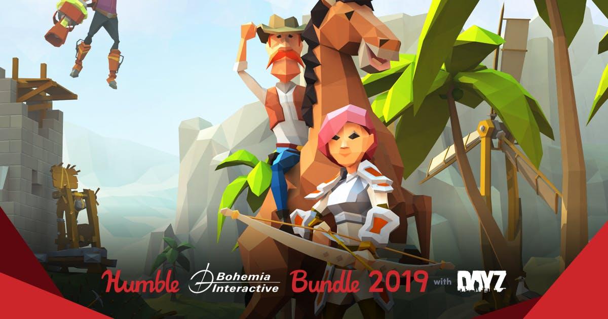 Humble Bundle - BOHEMIA INTERACTIVE - Arma II i inne - Steam