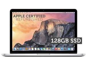 Recertyfikowany Apple MacBook Pro 13 (Retina, 8GB RAM, 128GB SSD) @ iBood