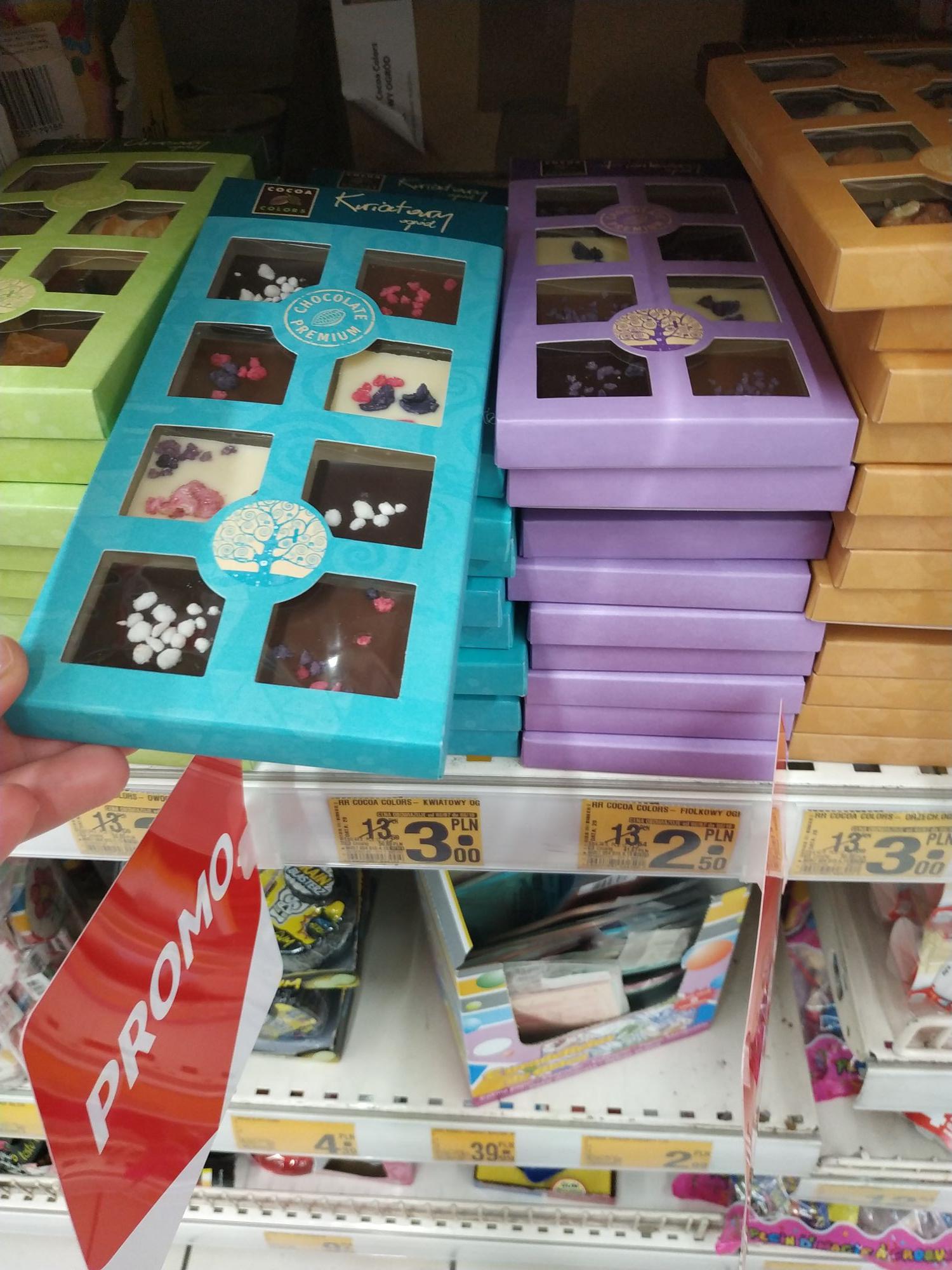 Czekolada Cocoa Colors Wola Park Auchan