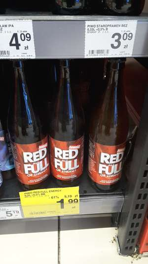 Piwo Red ale Full, Carrefour