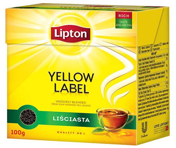 Herbata Lipton 100g liściasta Polo Market