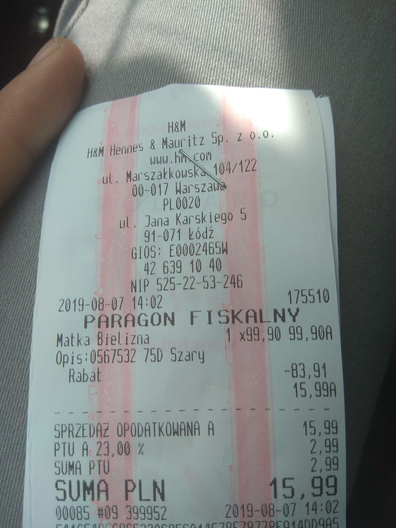 H&M 2 biustonosze do karmienia za 16zl