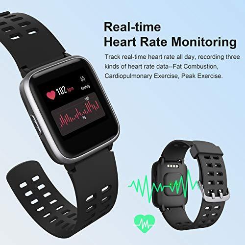 Arbily Smartwatch Fitness zegarek na rękę