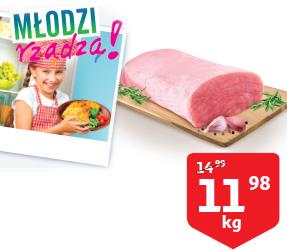Auchan, schab wieprzowy za 12 zł/kg