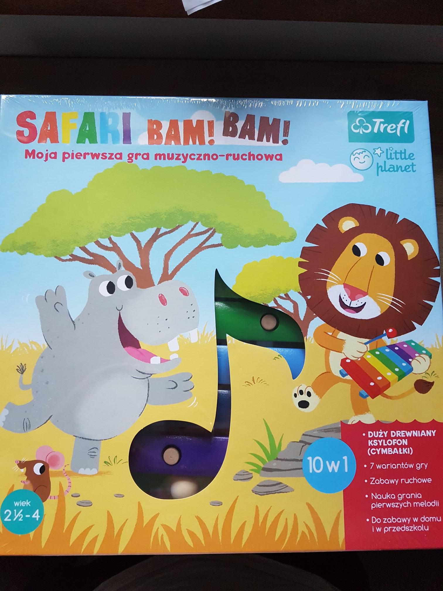 Gra Trefl Safari Bam! Bam!